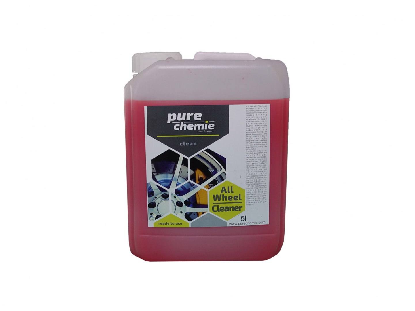 Pure Chemie All Wheel Cleaner 5L (Mycie felg) - GRUBYGARAGE - Sklep Tuningowy